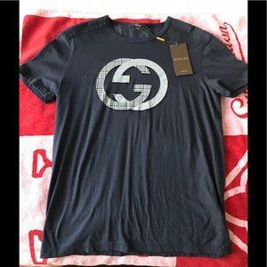 81dfedd3c Gucci Shirts - 💯 Authentic GUCCI men's t-shirt navy blue color